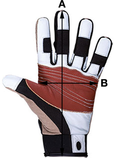 Beal Glove Sizes